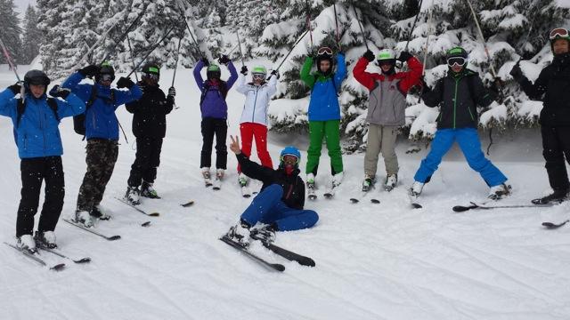 neue Ski